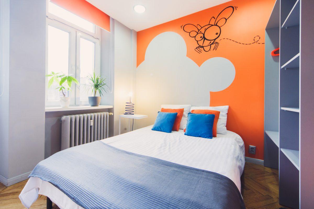 Double Room - Shared Bathroom - Mosquito Hostel Krakow
